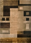 Moda Brown Modern Area Rug 8x11
