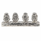 Set of 4 Monkey Salt/Pepper