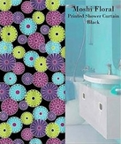 Moshi Floral Printed Shower Curtain