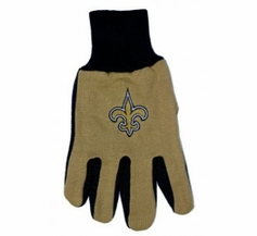 New Orleans Saints Two Tone Gloves