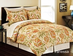 New Vanessa Floral Complete Bed in a Bag Set