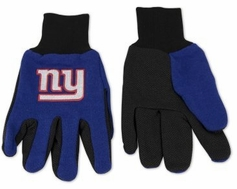 New York Giants Two Tone Gloves