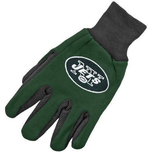 New York Jets Two Tone Gloves