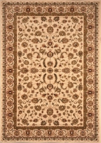 Nobility Wool Rug Ivory 4x6