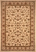 Nobility Wool Rug Ivory 5x8