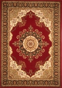 Nobility Wool Rug Red 4x6