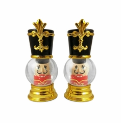 Nutcracker Globe Salt/Pepper
