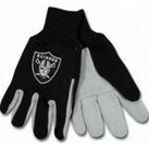 Oakland Raiders Two Tone Gloves