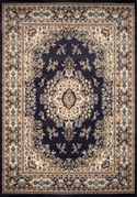 Oriental Premium 5x8 Area Rug (Navy) [Available May 12th 2014]
