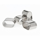 Set of 4 Oval Napkin Rings