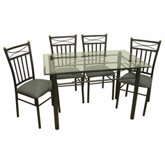 Palermo 5 Piece Dinette Set