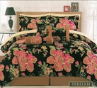 Persian Floral 11 Piece Complete Bed in a Bag Set