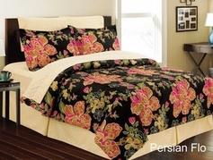 Persian Floral Complete Bed in a Bag Set