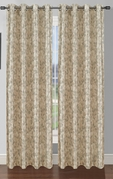 Pinehurst Printed Thermal Blackout Curtain (Birch)