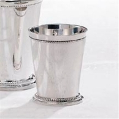 "Premium 3 1/4"" Beaded Julep Cup"