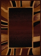 Premium Brown Modern Area Rug 8x11