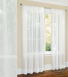 Primavera Crushed Sheer Curtain (White)