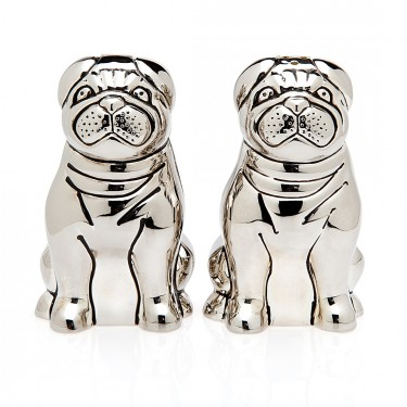 Pug Dog Salt & Pepper Set