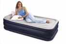 Raised Double Layer Inflatable Air Bed