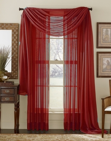 Red Sheer Panel