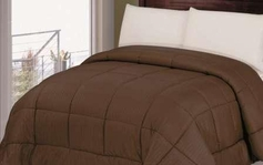 Reversible Comforter (Chocolate Brown)