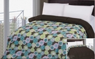 Reversible Comforter (Brown / Starburst)