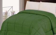 Reversible Comforter (Dark Green)