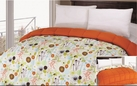 Reversible Comforter (Orange / Springtime)