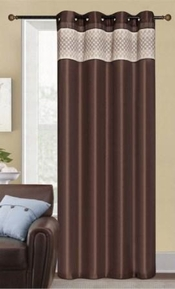 Rio Grommet Panel (Chocolate Brown)