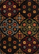 Royalty Chic Area Rug (Black)