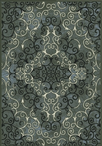 Royalty Mirror Image Area Rug