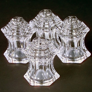 Set of 4 Crystal Salt/Pepper