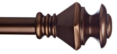 San Remo Curtain Rod (Brushed Brass)