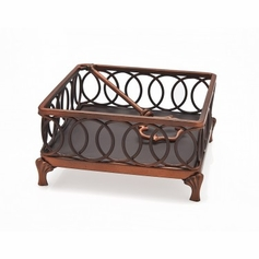 Hanover Copper Cocktail Napkin Holder