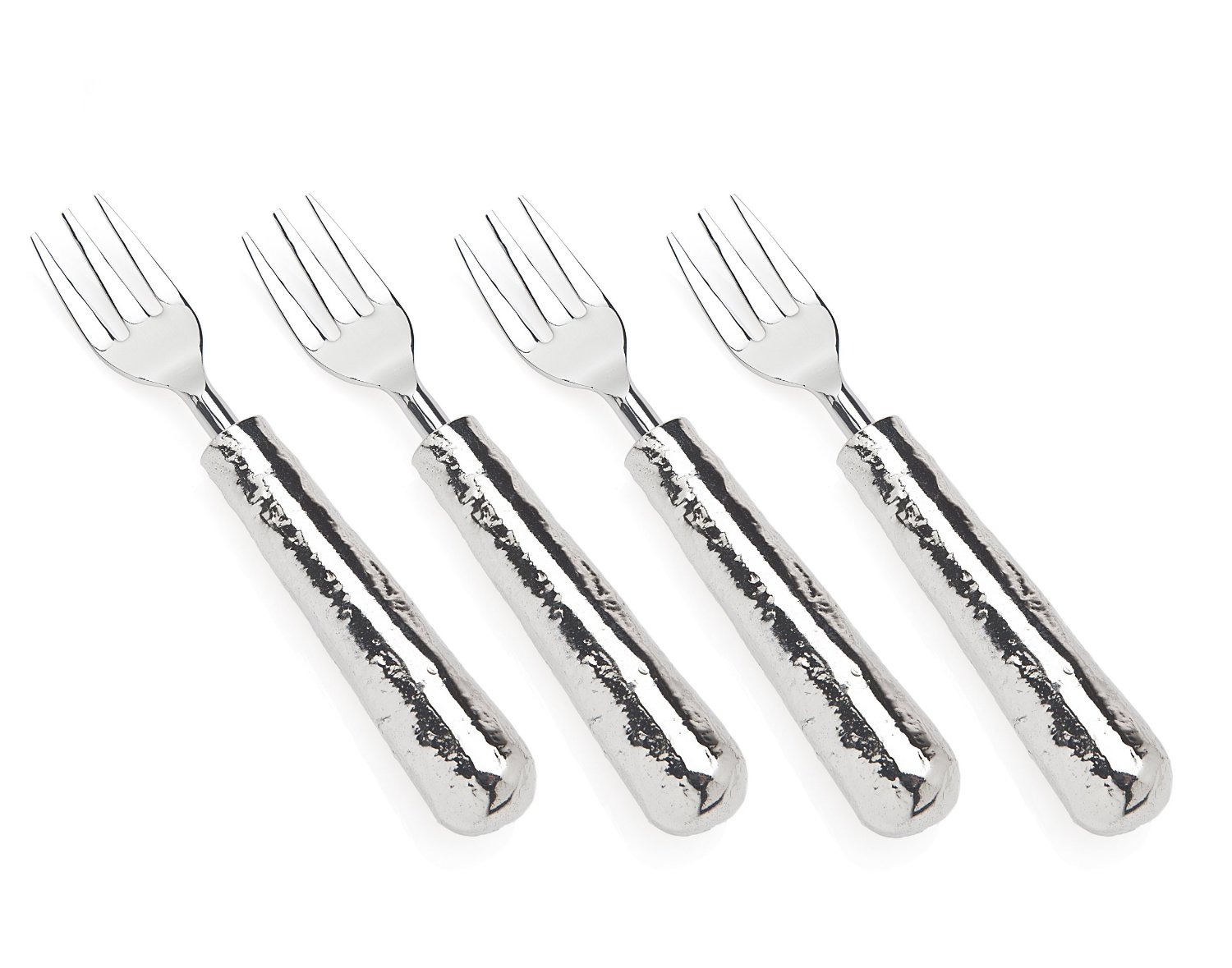 Set of 4 Lava Dessert Forks