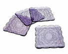 Set of 4 Marcela Amethyst Dessert Plate