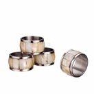 Set of 4 Mop Napkin Rings