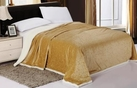 Sherpa Lined Blanket (Gold)
