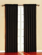 Silk Wood/Granada Blackout Panel (Black)