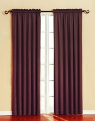 Silk Wood/Granada Blackout Panel (Burgundy)