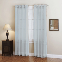 Doli Silver Grommet Sheer Panels (Set of 2)