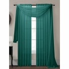 Grey Teal (Slate) Sheer Curtain Scarf [Available June 22nd]
