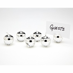 Set of 6 Apple Placecard Holders