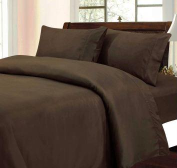 Solid Color Sheet Set (Chocolate Brown)