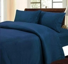 Solid Color Sheet Set (Navy Blue)