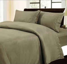 Solid Color Sheet Set (Taupe)