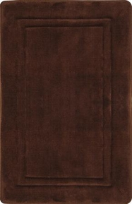 "Spa Retreat Memory Foam 17""x24"" Bathrug � Chocolate"