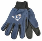 St Louis Rams Two Tone Gloves