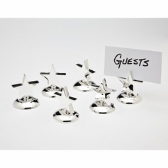 Set of 6 Star Placecard Holders