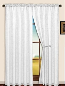Sterling Rod Pocket Curtain Panel (Beige)